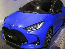 2020 Toyota Yaris Spied Undisguised Prior To Tokyo Motor Show Debut