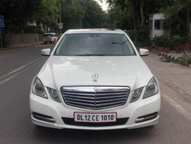Used 2011 Mercedes Benz E-Class AT 2009-2013 for sale