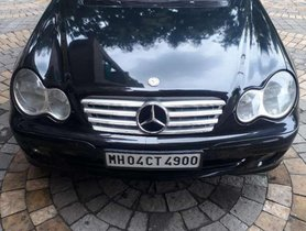 Used Mercedes Benz C-Class 200 K E;egance AT for sale