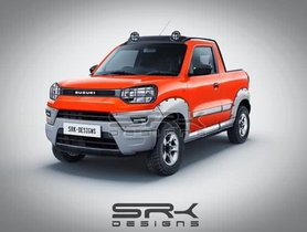 This Maruti S-Presso Pickup Truck Can Surely Attract Your Attention