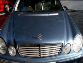 Used Mercedes Benz E Class E200 AT car at low price