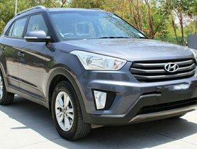 Used Hyundai Creta AT car at low price