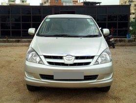 Toyota Innova 2004-2011 2.5 G (Diesel) 7 Seater BS IV MT for sale