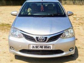 Used Toyota Etios VXD MT car at low price