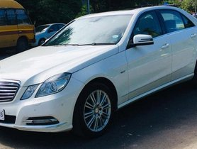Used 2012 Mercedes Benz E-Class AT 2009-2013 for sale
