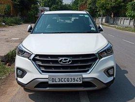 Used Hyundai Creta 1.6 SX Option 2019 MT for sale