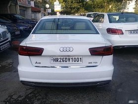 Used 2016 Audi A6 35 TDI AT for sale