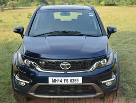 Discounts Of Tata Hexa Increased To Rs 1.65 Lakh In October 2019
