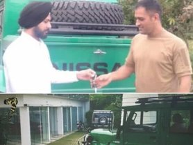 Nissan Jonga Added To Dhoni's Car Collection
