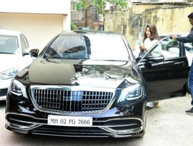Janhvi Kapoor's Newest Vehicle Is A Mercedes-Maybach With Mother's Number Plate