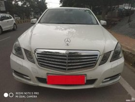 2011 Mercedes Benz E-Class AT 2009-2013 for sale at low price
