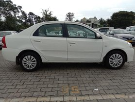 Used Toyota Etios GD MT car at low price