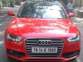 Used Audi A4 AT car at low price