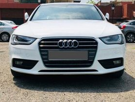 Audi A4 2014-2016 2.0 TDI 177 Bhp Premium Plus AT for ale