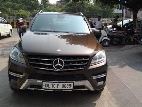 Used 2012 Mercedes Benz M Class AT for sale