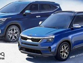 Kia QYi, The Sub-4-Metre Hyundai Venue Rival Rendered
