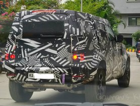 2020 Land Rover Defender Spied Testing in India Once Again