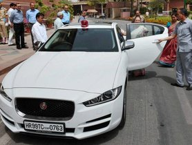 Former Lok Sabha Speaker Sumitra Mahajan's Jaguar Collecting Dust In Parliament Garage