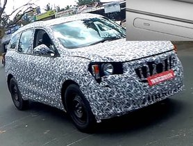 2020 Mahindra XUV500 Spotted With Flush-Type Door Handles