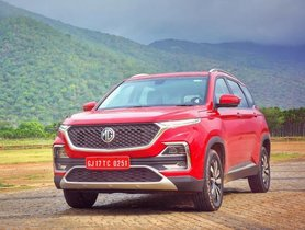 MG Motor Delivers 3.5K Hector Units in October 2019