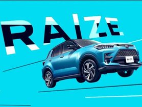 Toyota Raize Interior Revealed Prior To Debut