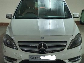 Used Mercedes Benz B Class AT car at low price