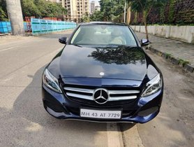 Mercedes Benz C-Class C 220d Avantgarde Edition C 2016 AT for sale