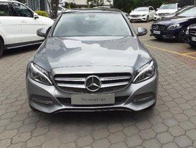 Used Mercedes Benz C-Class AT car at low price
