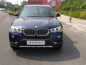 BMW X3 xDrive 20d Luxury Line 2016 AT for sale