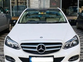2014 Mercedes Benz E Class AT for sale at low price