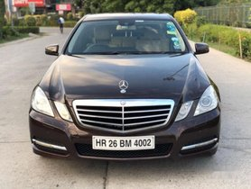 2019 Mercedes Benz E-Class AT 2009-2013 for sale