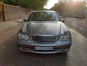 Used Mercedes Benz C-Class MT car at low price