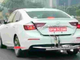 Honda Insight Hybrid Spied In India For The First Time