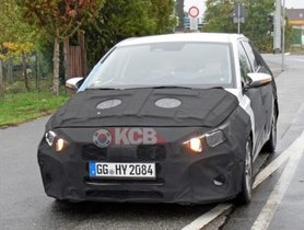 2020 Hyundai i20 Spotted With Digital Instrument Cluster