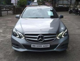 2015 Mercedes Benz E Classic AT for sale at low price