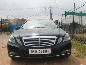 Used 2010 Mercedes Benz E Class AT for sale