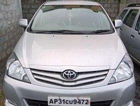 Toyota Innova 2.5 G 7 STR BS-IV, 2010 MT for sale