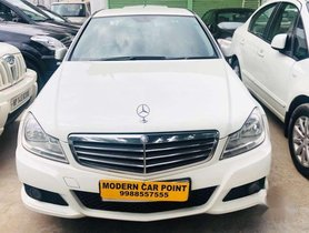 Used 2012 Mercedes Benz C-Class AT for sale