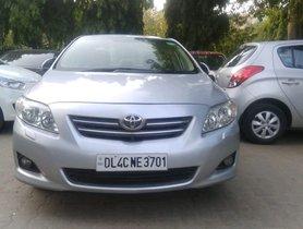 2009 Toyota Corolla Altis GL Petrol MT for sale in New Delhi