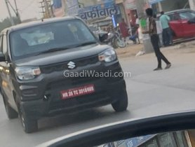 Maruti S-Presso CNG Spied Testing