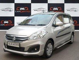 Used 2017 Maruti Suzuki Ertiga SHVS VDI MT for sale