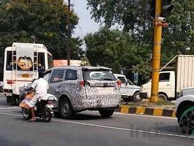 BSVI Mahindra SUVs Spied Testing