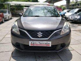 Used Maruti Suzuki Baleno Delta 2015 MT for sale