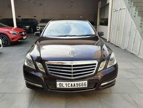 Mercedes-Benz E-Class 2009-2013 E250 CDI Blue Efficiency AT for sale