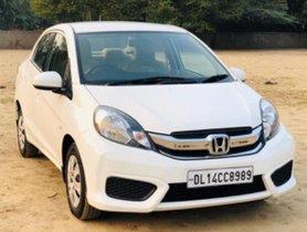 Used 2016 Honda Amaze S i VTEC MT for sale