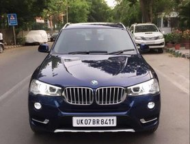 Used BMW X3 xDrive 20d xLine 2016 AT for sale