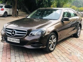 2013 Mercedes Benz E Class AT for sale