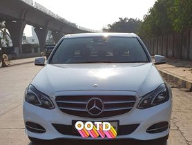 Used Mercedes Benz E Class E200 AT for sale at low price