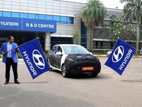 Hyundai Aura Testing Kicks Off In India, Launch Expected In January