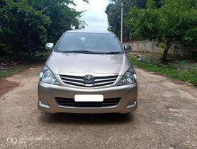 Toyota Innova 2.5 VX (Diesel) 8 Seater MT for sale